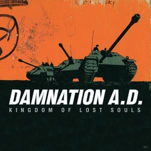 DAMNATION A.D. - KINGDOM OF LOST SOULS (BF 2015/WHITE VINYL)