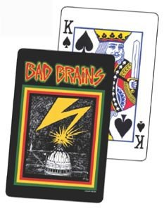 BAD BRAINS - PLAYING CARDS