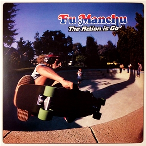 FU MANCHU - THE ACTION IS GO (YELLOW/BLUE DOUBLE VINYL)