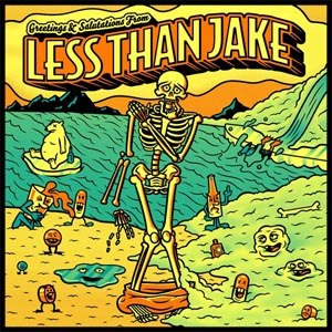LESS THAN JAKE - GREETINGS AND SALUTATIONS [YELLOW V