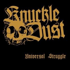 KNUCKLEDUST - UNIVERSAL STRUGGLE (WHITE)
