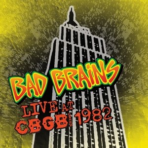 BAD BRAINS - LIVE AT THE CBGB SPECIAL EDITION VINYL
