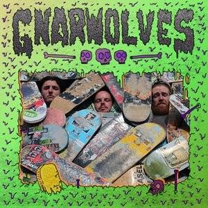 GNARWOLVES - GNARWOLVES [BLACK/BLUE VINYL]