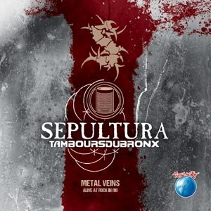 SEPULTURA - METAL VEINS - ALIVE AT ROCK IN RIO (GREEN/YELLOW)