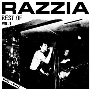 RAZZIA - REST OF 1981-1992 VOL.1