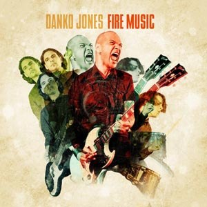 DANKO JONES - FIRE MUSIC (RED VINYL)
