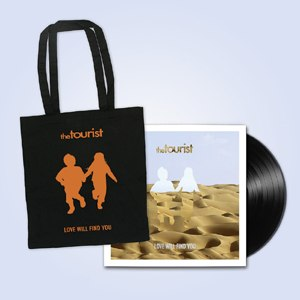 TOURIST, THE - LOVE WILL FIND YOU TOTE BAG BUNDLE
