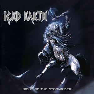 ICED EARTH - NIGHT OF THE STORMRIDER (RE-ISSUE 2