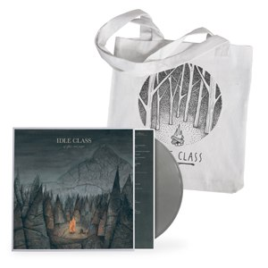 IDLE CLASS - OF GLASS AND PAPER BUNDLE (TOTE BAG)