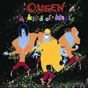 QUEEN - A KIND OF MAGIC (LIMITED BLACK VINYL)