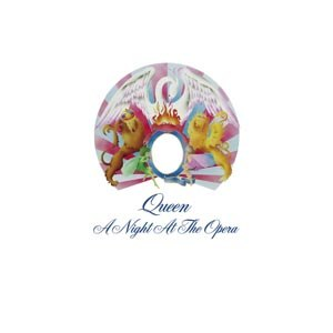 QUEEN - A NIGHT AT THE OPERA (LIMITED BLACK VINYL)