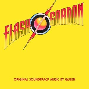 QUEEN - FLASH GORDON (LIMITED BLACK VINYL)