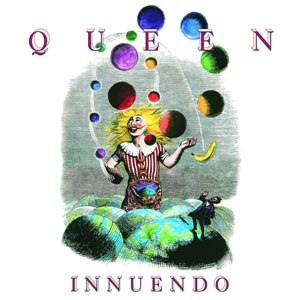QUEEN - INNUENDO (LIMITED BLACK VINYL)