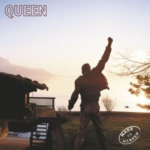 QUEEN - MADE IN HEAVEN (LIMITED BLACK VINYL)