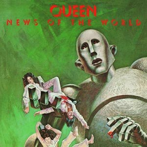 QUEEN - NEWS OF THE WORLD (LIMITED BLACK VINYL)