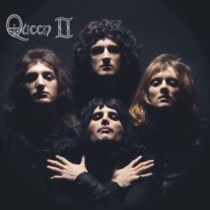 QUEEN - QUEEN II (LIMITED BLACK VINYL)