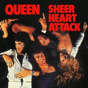 QUEEN - SHEER HEART ATTACK (LIMITED BLACK VINYL)