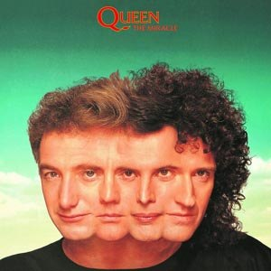 QUEEN - THE MIRACLE (LIMITED BLACK VINYL)