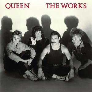 QUEEN - THE WORKS (LIMITED BLACK VINYL)