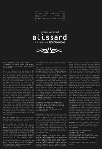 MOTORPSYCHO - BLISSARD (HARDCOVER BOOK)
