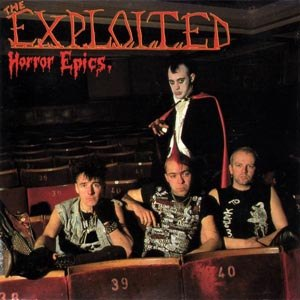 EXPLOITED, THE - HORROR EPICS (REISSUE/COLOURED VINY