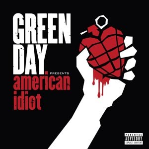 GREEN DAY - AMERICAN IDIOT (COLOURED)