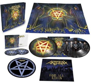 ANTHRAX - FOR ALL KINGS (BOX)