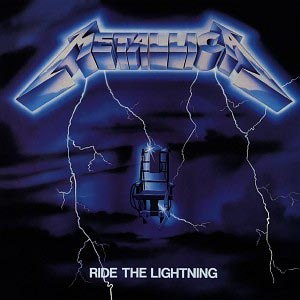 METALLICA - RIDE THE LIGHTNING (REMASTERED 2016