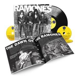 RAMONES - RAMONES - 40TH ANNIVERSARY DELUXE E
