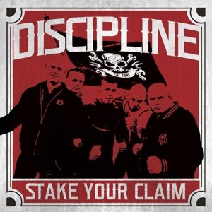 DISCIPLINE - STAKE YOUR CLAIM (RED VINYL)
