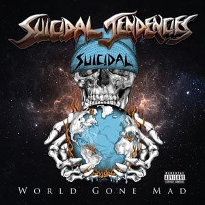 SUICIDAL TENDENCIES - WORLD GONE MAD (BLUE)