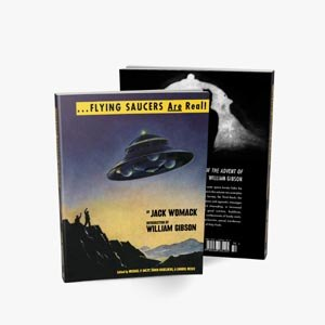 WOMACK, JACK - FLYING SAUCERS ARE REAL! - THE UFO LIBRARY