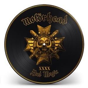MOTÖRHEAD - BAD MAGIC (GOLD PICTURE)