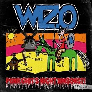 WIZO - PUNK GIBT'S NICHT UMSONST! (GREEN)