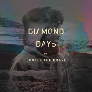LONELY THE BRAVE - DIAMOND DAYS (LTD. 'MINT' 12' EP/RS