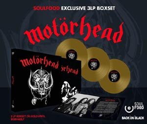 MOTÖRHEAD - MOTÖRHEAD (3LP BOX, EXCLUSIVE GOLD VINYL)