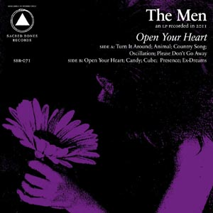 MEN, THE - OPEN YOUR HEART (PURPLE VINYL)