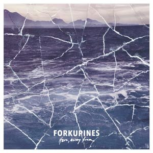 FORKUPINES - HERE, AWAY FROM (LTD BLAU/SCHWARZES