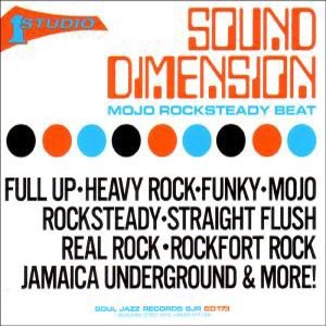 SOUND DIMENSION, THE - MOJO ROCKSTEADY BEAT