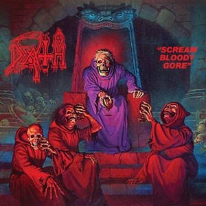 DEATH - SCREAM BLOODY GORE (REISSUE BLACK)