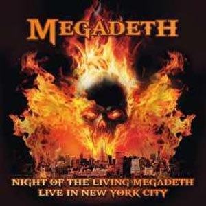 MEGADETH - NIGHT OF THE LIVING MEGADETH