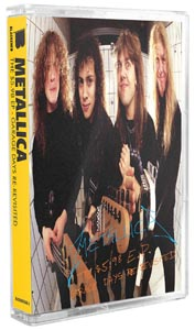 METALLICA - THE 5.98 E.P.-GARAGE DAYS RE... (MC