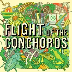 FLIGHT OF THE CONCHORDS - FLIGHT OF THE CONCHORDS (NEON YELLOW VINYL)