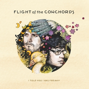 FLIGHT OF THE CONCHORDS - I TOLD YOU I WAS FREAKY (LIGHT GREEN VINYL)