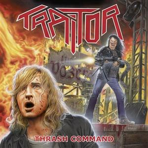 TRAITOR - THRASH COMMAND (LTD.CLEAR)