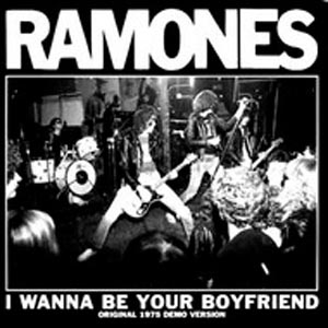 RAMONES - I WANNA BE YOUR BOYFRIEND (CLEAR VINYL)