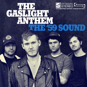 GASLIGHT ANTHEM, THE - THE '59 SOUND (TRANSPARENT W/ BLACK