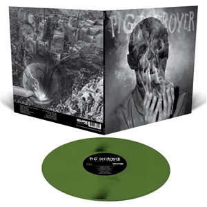 PIG DESTROYER - HEAD CAGE (LTD.SWAMP GREEN GATEFOLD)