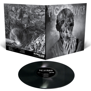 PIG DESTROYER - HEAD CAGE (BLACK GATEFOLD LP+MP3)