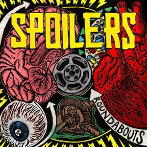 SPOILERS - ROUNDABOUTS (RED BLACK SPLATTER)
